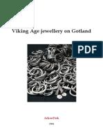 Viking Jewellery From Viking Jewellery from the island of Gotland