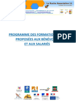 Programme Formation 2016