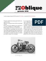 La rassegna stampa di Oblique (gennaio 2016)
