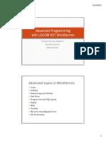 Advanced Programmingforprint