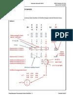 Penyelesaian Persamaan Linier Simultan-MetodeEliminasiGauss