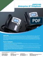 Gxp2100 Brochure English