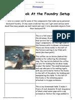 The Foundry Setup