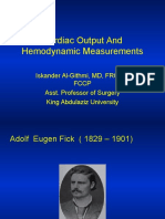Cardiac Output and Hemodynamic Measurement