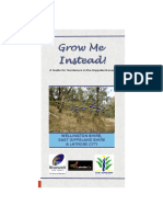 Grow Me Instead - A Guide for Gardners in the Gippsland Area