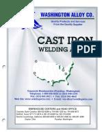 Cast Iron Welding Alloys