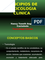 Toxicologia Principios de Toxicologa Clnica