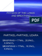 Physics of the Lungs and Breathing