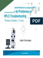 Problemas HPLC