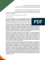 Declaración sobre el Acuerdo Transpacífico de Asociación Económica