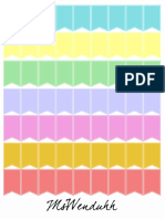 Special Event Flags Blank