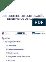 Criterios de Estructuración de Edificios de Acero