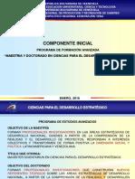 Programa de Formación avanzada. UBV Bolívar