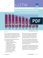 Fiscal Performance of Canadas Premiers 2016