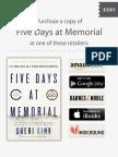 Five Days at Memorial Excerpt