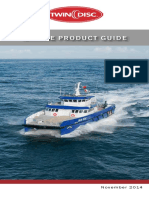 Twin Disc Marine Product Guide