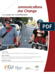 Climate Communications and Behavior Change