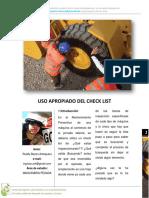 Checklist Maquinaria Pesada