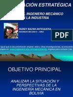 PLANIFICACIÓN ESTRATÉGICA EL ROL DEL INGENIERO MECÁNICO  EN LA INDUSTRIA