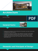 contemporary architecture gh