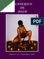 Cuaderno Erotico de BDSM #19