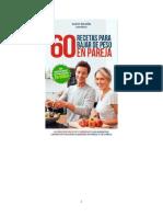 Dleon Santi - 60 Recetas Para Bajar de Peso en Pareja