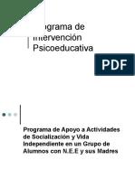 Programa de Intervención Psicoeducativa