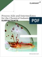 Clariant Surfactant Brochure