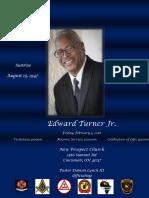 Edward Turner, Jr. Obituary