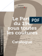 Catalogue Ligaran ebook Paris