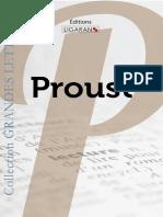 Catalogue Ligaran livres Proust grands caractères