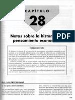 Mochón-Becker - Escuelas Pensamiento Económico - Historia Del Pensamiento Económico