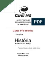 Apostila História CEFET PDF