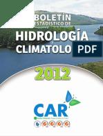 Bolet n Estad Stico de Hidrolog a y Climatolog a CAR[1]