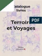 Catalogue Ligaran livres terroirs voyages