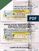 Norma Mexicana Relativa Sobre Las Instalaciones Eléctricas