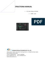 EPRC 12 Volt 10 Ampere Solar Charge Controller Manual