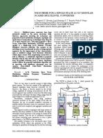 A space vector pwm scheme to a ac-dc multilevel modular converter