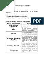 Resumen Psicología General