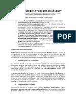 Langon, Mauricio - La Transmision de la Filosofia en Uruguay