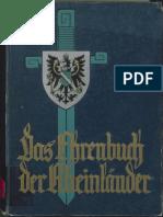 Ehrenbuch der Rheinländer