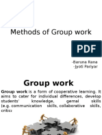 Methods of Group Work