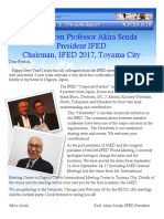 IFED - Newsletter5. Pre - Chicago, 2016