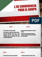 3.4.1 Manual de Convivencia Para El Grupo