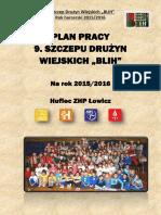 Plan Pracy Szczepu Na 2015.2016