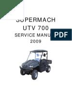 UTV700 Service Manual Whole
