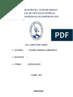 Monografia Final El Camino Del Lider