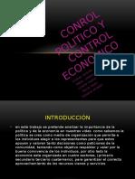 Control Economico y Contol Politico 10a