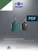 Hand Grenades RGO-88 & RGZ-89 (Dezamet_88)