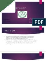 Dissertation on NPA in JK Bank